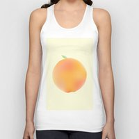 peach Tank Tops featuring Peach by Jonah Grindler