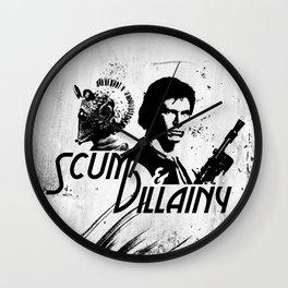 Scum & Villainy Wall Clock