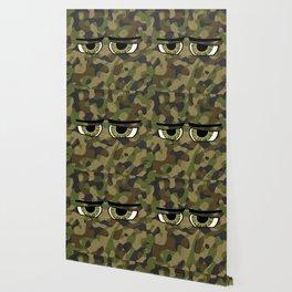 Camo Eyes Wallpaper