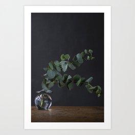 Fine-art photography | still life | photo print | beautiful branches | green leaves Art Print