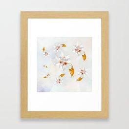Sakura - Japanese cherry blossom Framed Art Print
