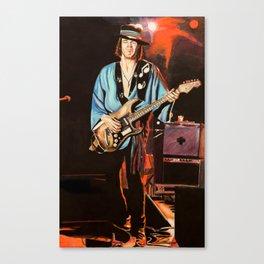Stevie Ray Vaughn Canvas Print