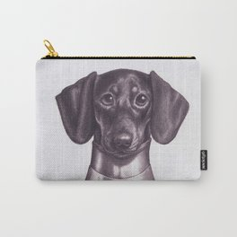 Dachshund Knight Carry-All Pouch