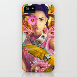 EXOTIC NYMPH iPhone Case