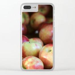 Honeycrisp Apples Clear iPhone Case