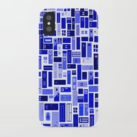doors iPhone & iPod Cases featuring Doors - Blues by Finlay McNevin