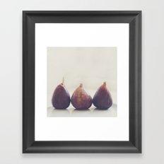 figs. We 3 Figs. Framed Art Print