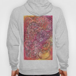 Red Bubbles Hoody