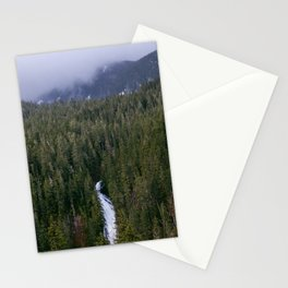 Waterfall in gifford-pinchot national forest, washington Stationery Cards