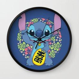 Maneki Stitch Wall Clock
