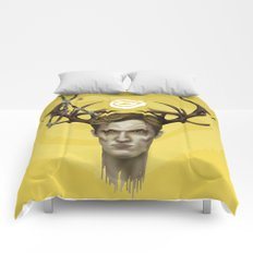 Notice King | True Detective Comforters
