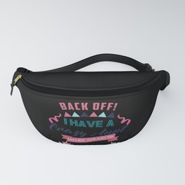 I Have a Crazy Aunt I'm Not Afraid to Use Her Funny Girl Tee Fanny Pack
