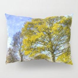 English Summer Farm Art Pillow Sham
