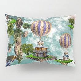 Balloon House Pillow Sham