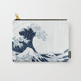 The Great Wave Halftone Carry-All Pouch