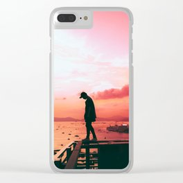 Intelligent life out there Clear iPhone Case