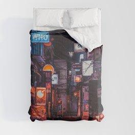 Golden Gai Tokyo Bar Crawl Comforters