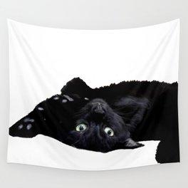 salem the black cat Wall Tapestry
