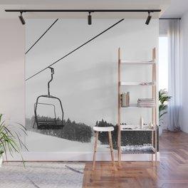 Ski Lifts Views Wall Mural