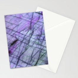 Purple Labradorite Stationery Cards