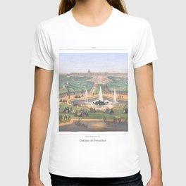 Paris art print Paris Decor office decoration vintage decor VERSAILLES CHATEAU of Paris T-shirt