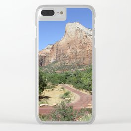 Crossroads At The Court Of The Patriarchs Clear iPhone Case