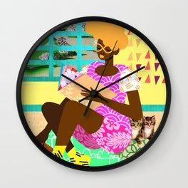 Kitten Room Wall Clock