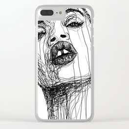 Slick Woods Clear iPhone Case