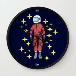 USSR cosmonaut Wall Clock