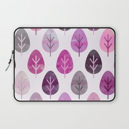 Watercolor Forest Pattern #3 Laptop Sleeve