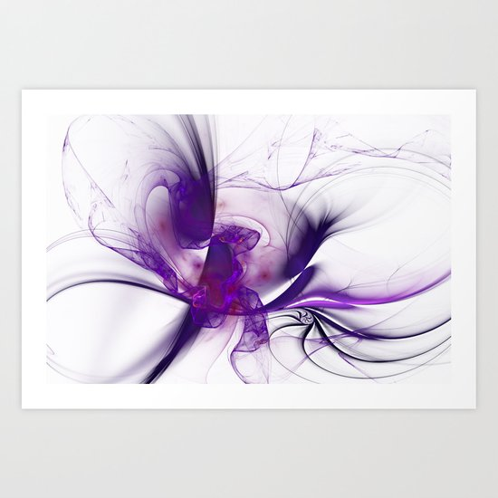 Fractal Design Art Print