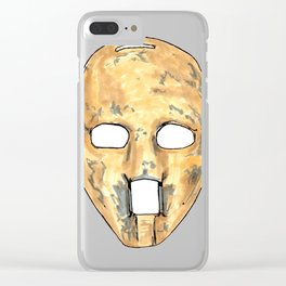 Plante - Mask Clear iPhone Case