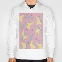 confetti Hoodies featuring Confetti  by homotrippin