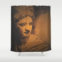 apollo Shower Curtains featuring Apollo II by Jerry Watkins