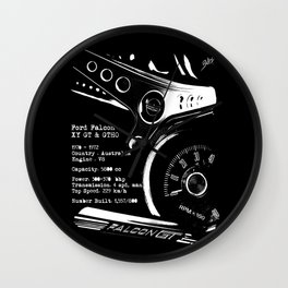 Ford Falcon XY GT & GTHO (specifications) Wall Clock