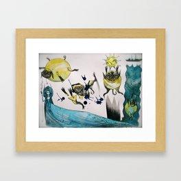 6-----6 Framed Art Print