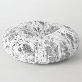 Naughty Toile de Jouy (Charcoal) Floor Pillow