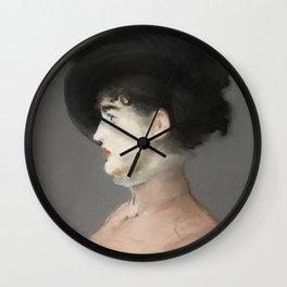 Irma Brunner by Edouard Manet Wall Clock