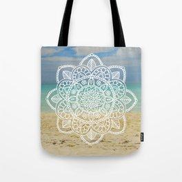 Beach Mandala Tote Bag