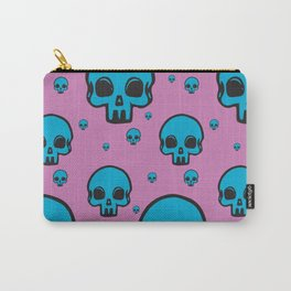 Blu Skull Carry-All Pouch
