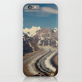 ALASKA I: Ruth Glacier beneath Denali ~ The Great One ~ Mt. McKinley iPhone Case