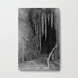 In The Palace Of Frost Metal Print