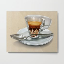 Italian coffee 2.0 Metal Print