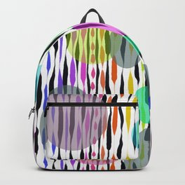 Floating on air abstract Backpack