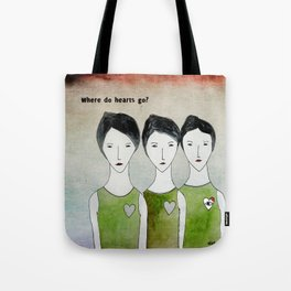 Heartless ones Tote Bag