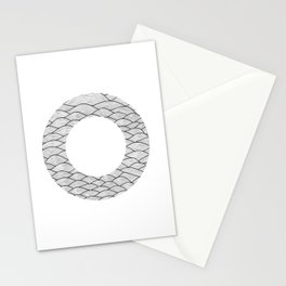 Hall-O Zen (white) Stationery Cards