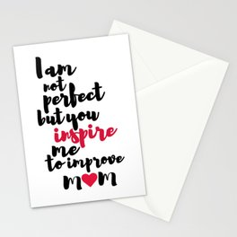 Mom Inspiration Stationery Cards