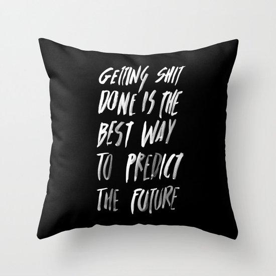 PREDICT Throw Pillow