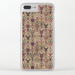 Kilim Fabric (Vintage) Clear iPhone Case