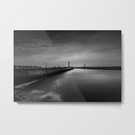 The Long Way Metal Print